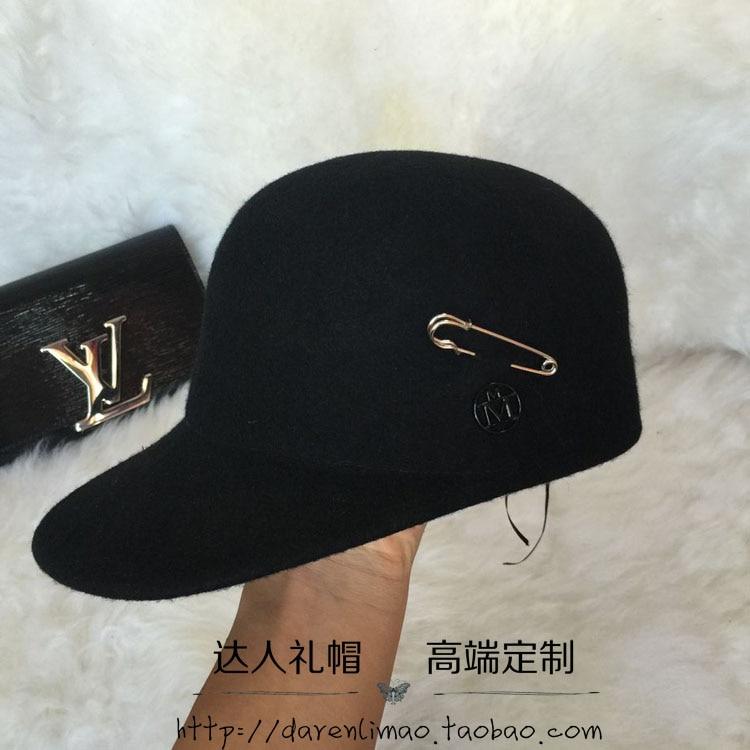 Vacally Women Men Adjustable Letter Denim Embroidery Baseball Mesh Cap Hat