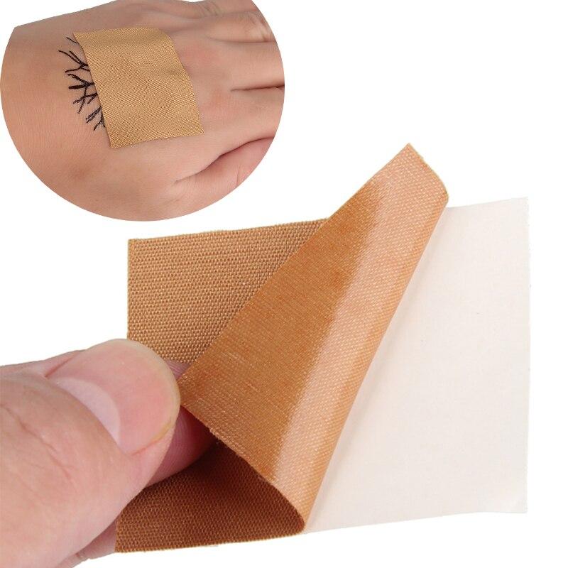 BEAUTY7, 50 шт в наборе, смываемая Татуировка Self самоклеящийся Эластичный Бандаж с защитным козырьком Обёрточная бумага спортивная лента татуировки временная татуировка Стикеры - 3