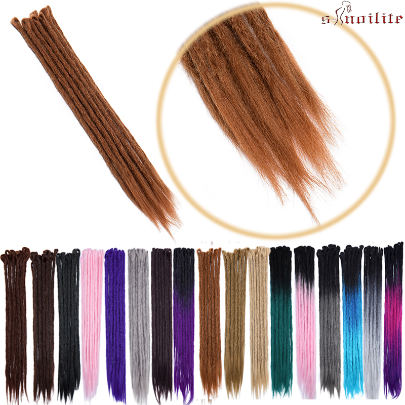 S-noilite 100g/pack 24inch Braiding Hair Ombre Two Tone Colored Jumbo Braids Hair Synthetic Hair For Dolls Crochet Hair Clear And Distinctive Jumbo Braids