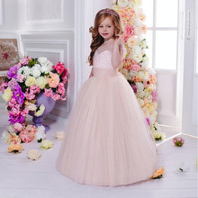 Holy Pearls Flower Girl Dresses Cap Sleeves First Communion Dress A Line Baby Princess Girls Dress Kids Wedding Party Dress