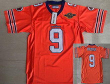 37d0e54fc91 Waterboy 9 Bobby Boucher The Waterboy Football Jersey With 50th Anniversary American  Football Jerseys Orange S-3XL