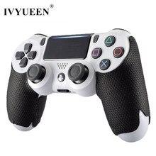 Противоскользящие Чехлы IVYUEEN для контроллера PlayStation Dualshock 4 PS4 Pro Slim, умный чехол для рук, аксессуары для игр