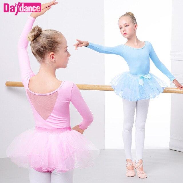 Детская балетная пачка Розовый Тонкий Одежда для танцев leotard обувь для девочек принцесса балетное платье детей