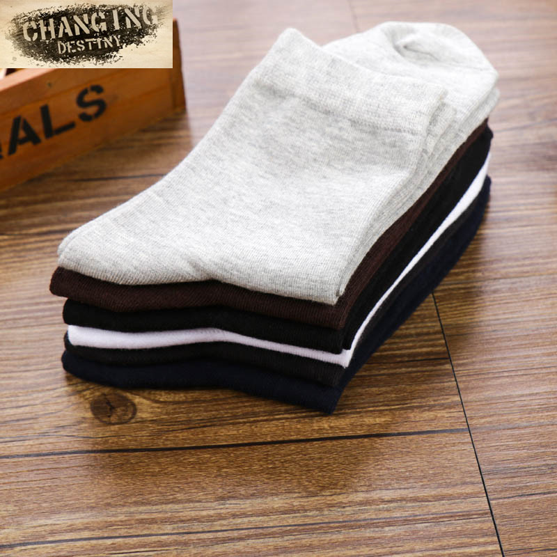 Mens Cotton Socks High-end Business Classics Casual Gentleman Comfort Socks Deodorization Absorbent Breathable Male Socks