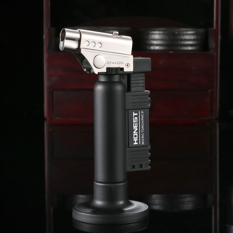 HONEST Dental Burner Butane Gas Jet Welding Micro Torch Gun Windproof Lighter ...