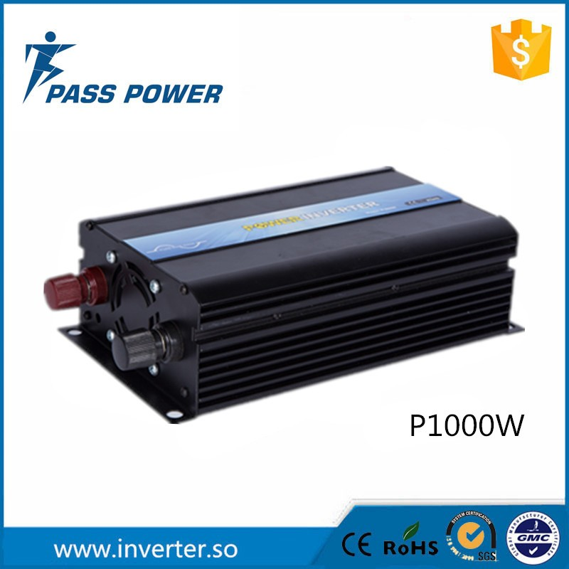 Фото CE RoSH SGS 1000w/1kw 12 volt inverter off grid and pure sine wave one year warranty