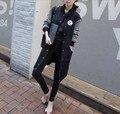 Новый Fashon Kpop экзобиология-м длинные школы носить бейсбольную форму куртка ватки EXO куртка бесплатная доставка