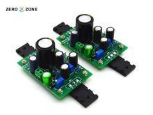 GZLOZONE One Pair Assembled NPN C5200 JLH1969 Class A Amplifier Board 10W+10W