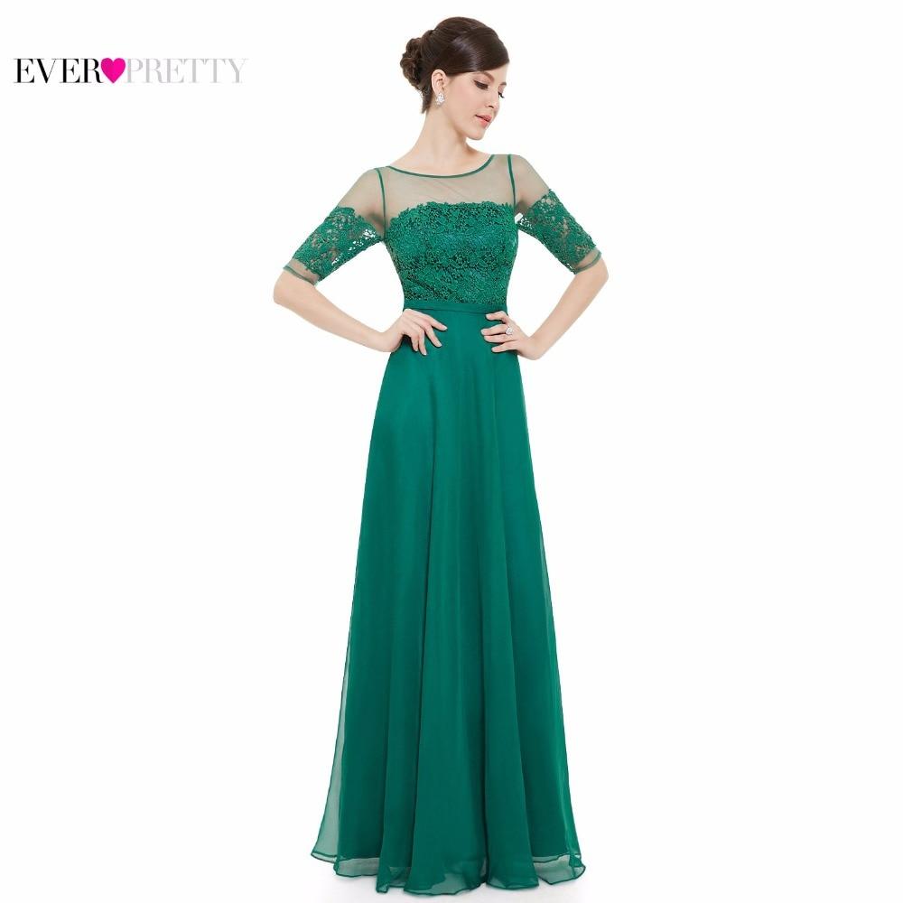 Prom Dresses Ever Pretty HE08459 New Arrival Elegant Green Half ...