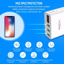 Universal Mobile Phone USB Charger  For iPhone Samsung, Xiaomi, Max 2.4A
