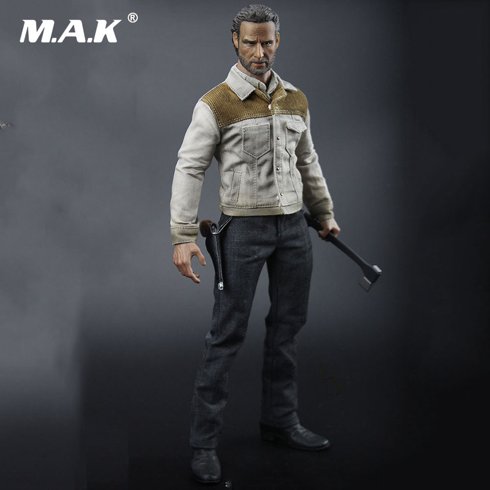 H-04 The Walking Dead Season 4 Rick Clothing & Weapon Set Accessory for 1/6 Scale 12'' Action Figure Body стоимость