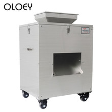 цена на Commercial Poultry Cutting Machine Automatic Cutting Machine Electric Cut Chicken Chicken Fish Block Machine Electric Slicers