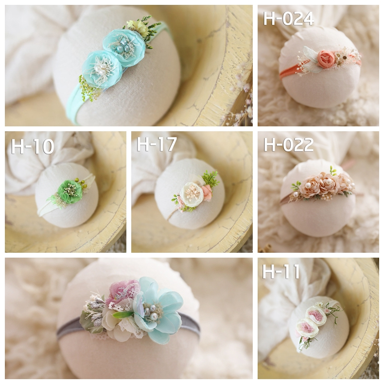 Recém-nascidos headbands com flor do bebê da princesa linda criativo headbands headwear headband foto tiro adereços hot-venda