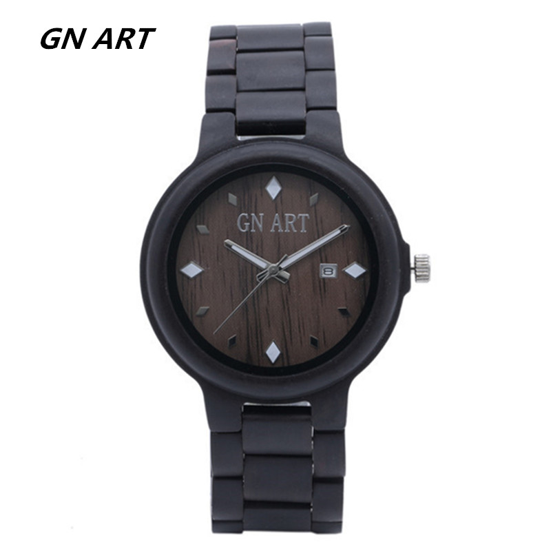 2018 Custom -made Valentines Daygift wooden watch handmade for men special Watches Business merchandise watches Wholesale