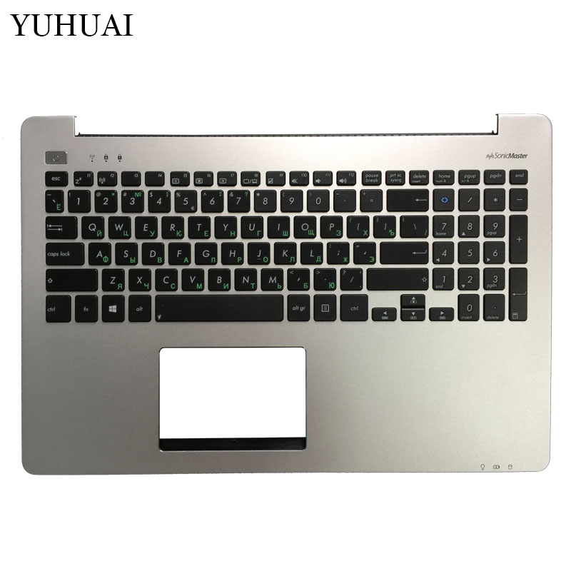 New Russian Laptop Keyboard For ASUS S551 K551 S551L R553L S551LN V551 K551L with speaker Palmrest