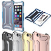 Brand R Just Luxury High Quality Rose Gold Aluminum Metal Shockproof Frame Bumper Cover Case For