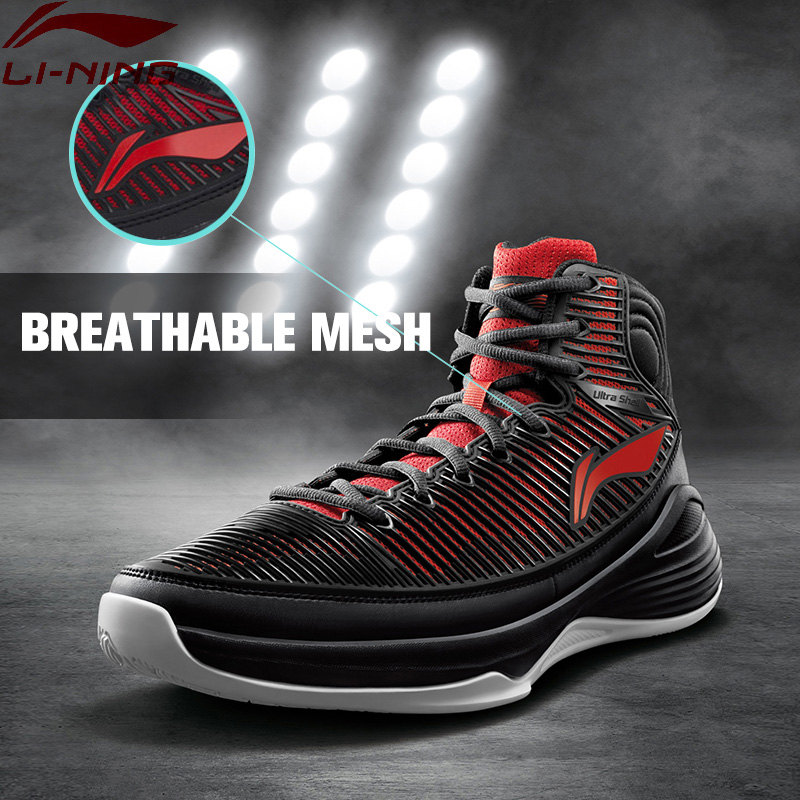 Li Ning Men S QUICKNESS On Court Basketball Shoes Support Cushioning LiNing Sneakers Sports Shoes ABPM015