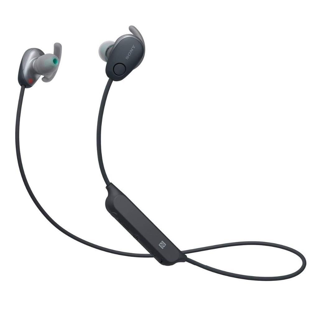 SONY  WI-SP600N Wireless Noise Canceling Sports In-Ear  with mic,NFC  waterproof earphone free shipping sony беспроводные наушники