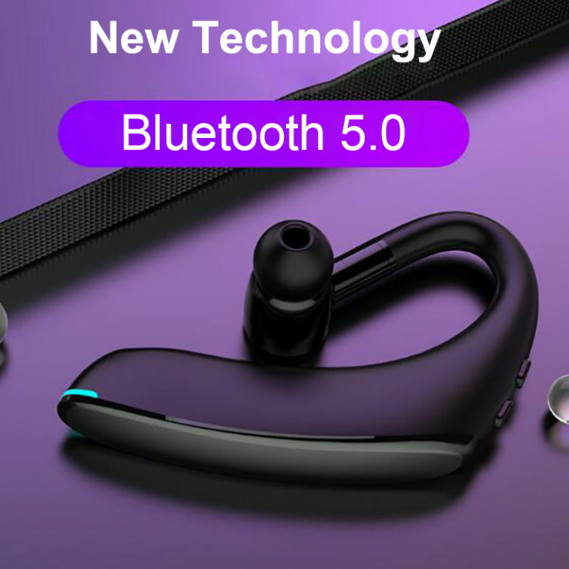 Lesiri Business Bluetooth Headset F900 Wireless Earphone Car Bluetooth V5.0 Phone Handsfree MIC Music for iPhone Xiaomi Samsung (3)