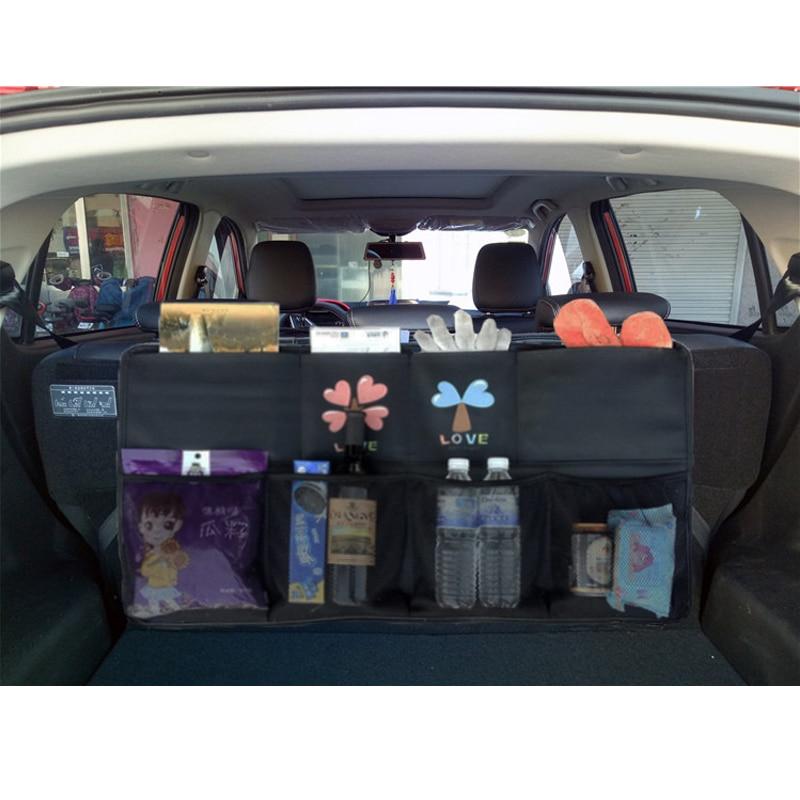 Image 2 - New car trunk bag SUV car organizer car seat organizer car storage bing box size 90*48cm trunk organizer freeshipping-in Stowing Tidying from Automobiles & Motorcycles