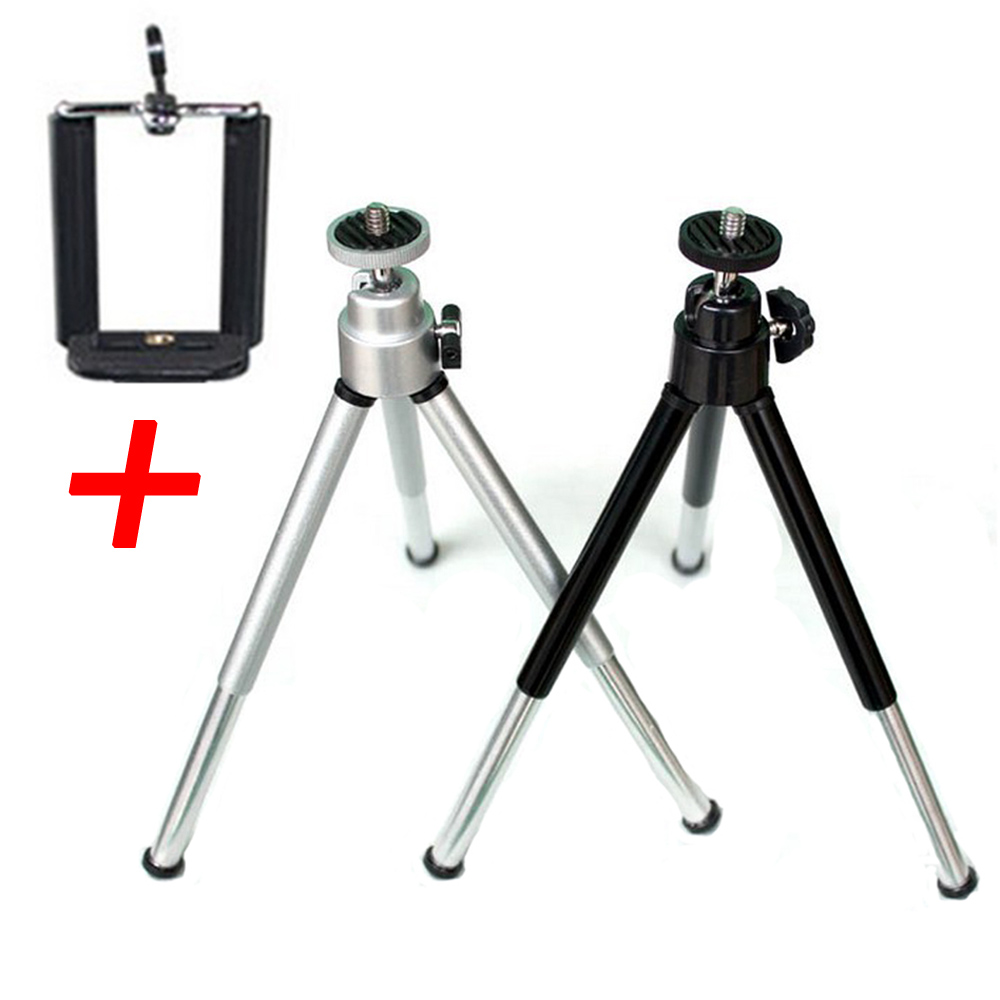 Universal Mini Stativ Mit Telefon Clip Halterung Stehen Halterung Für Handys Gopro Action Kameras Unterstützung