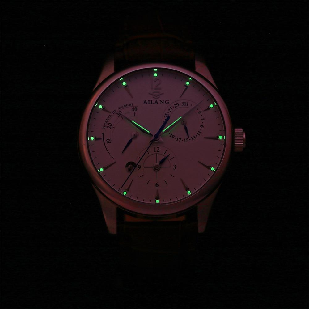 AILANG Μηχανολογικά Ρολόγια Ανδρικά - Ανδρικά ρολόγια - Φωτογραφία 4