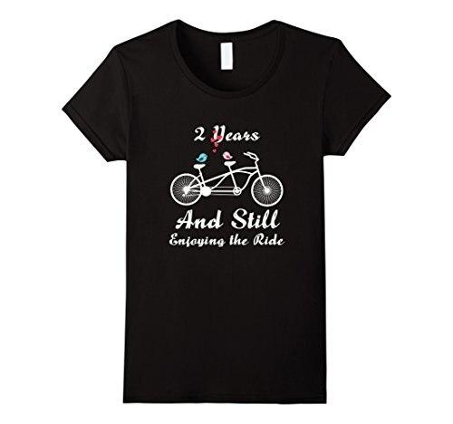 Two Year Wedding Anniversary Gift: 2nd Wedding Anniversary T Shirt 2 Years Marriage Gift
