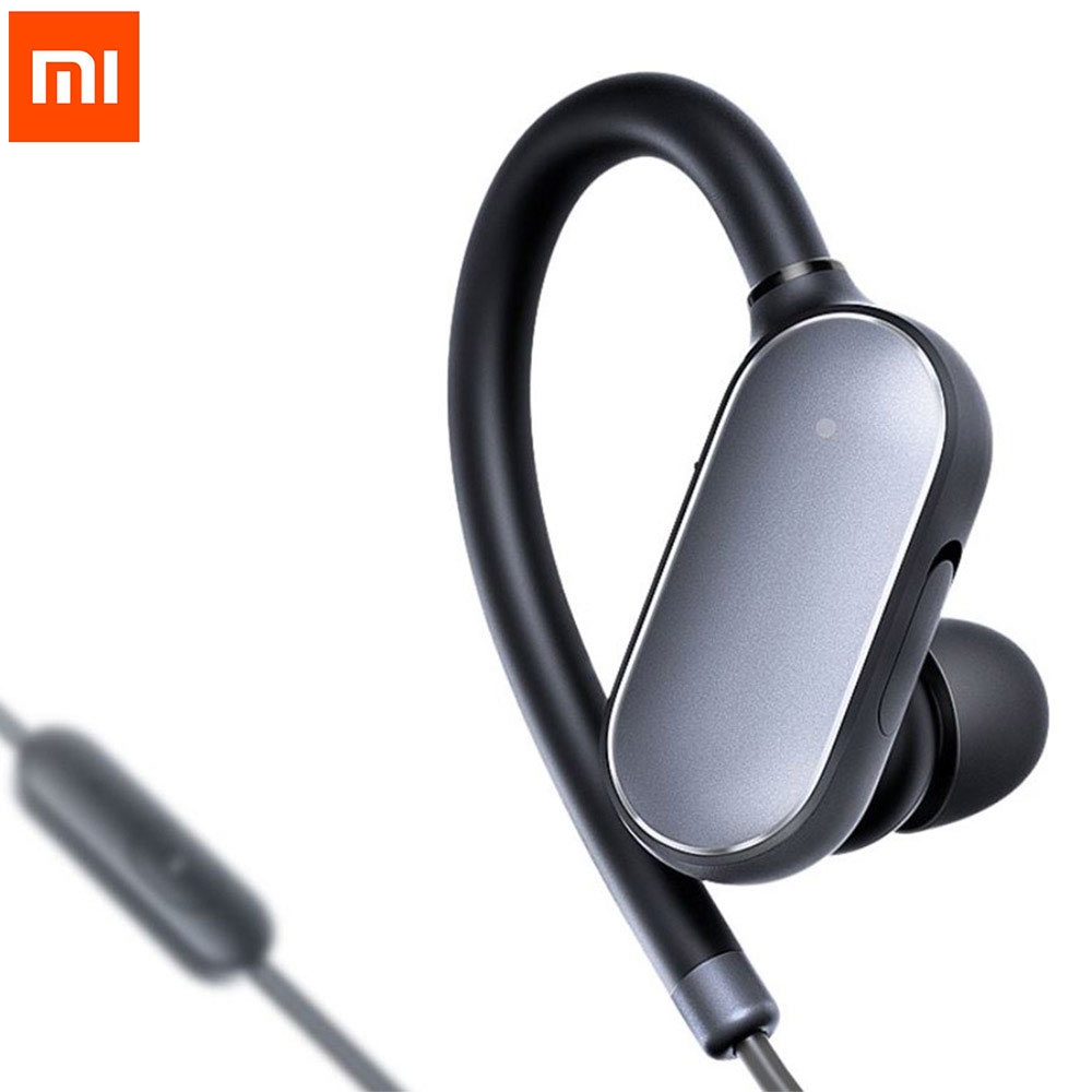 Xiaomi Mi Bluetooth 4.1 Music Sport Earphones Headset with Mic Hands-free Calling Volume Control Song Switch