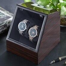 Wyświetlacz Zegarek automatyczny Nawijacz Zegarek Zegarki Przypadku Bagażu Organizator Auto Milczy Zegarek Nawijacz Przezroczystą Pokrywą Pudełka do Zegarków