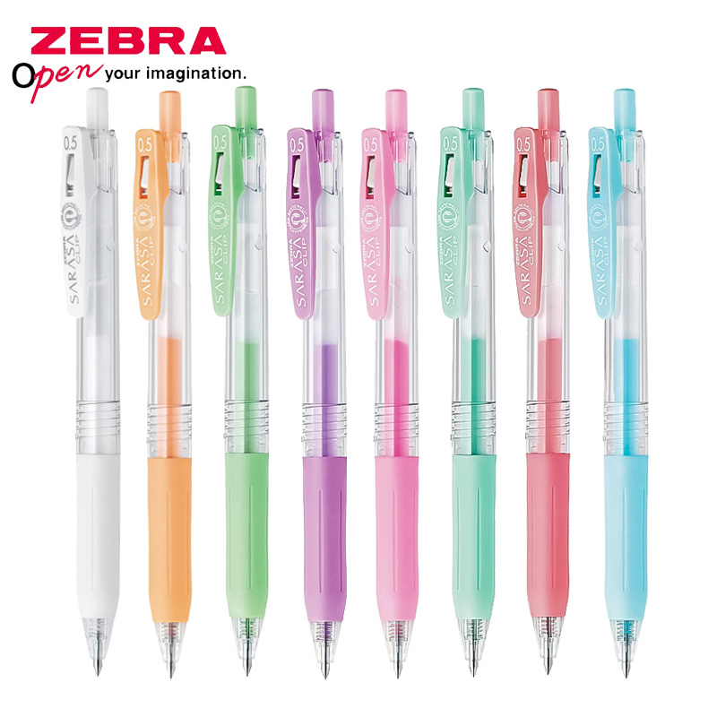 1 Piece Zebra SARASA JJ15 Milk Color Light Color Line Drawing Pen Gel Pen Limited Edition 0.5mm