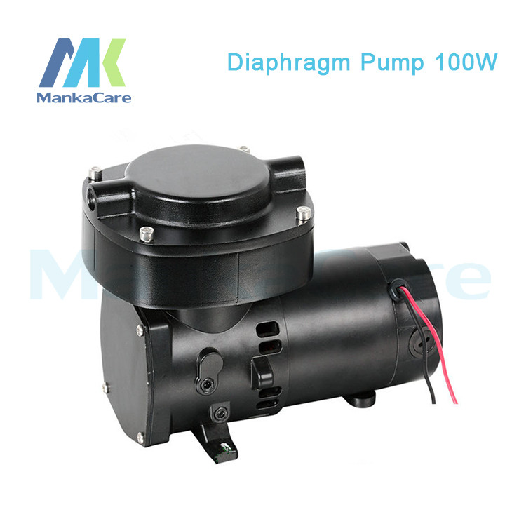 Manka Care-12V (DC) 68L/min 100W 2.5 Bar Pressure Brushless Medical Vacuum Pump /Silent Pumps/Oil Less/Oil Free/Compressing Pump manka care 110v 220v ac 50l min 165w small electric piston vacuum pump silent pumps oil less oil free compressing pump