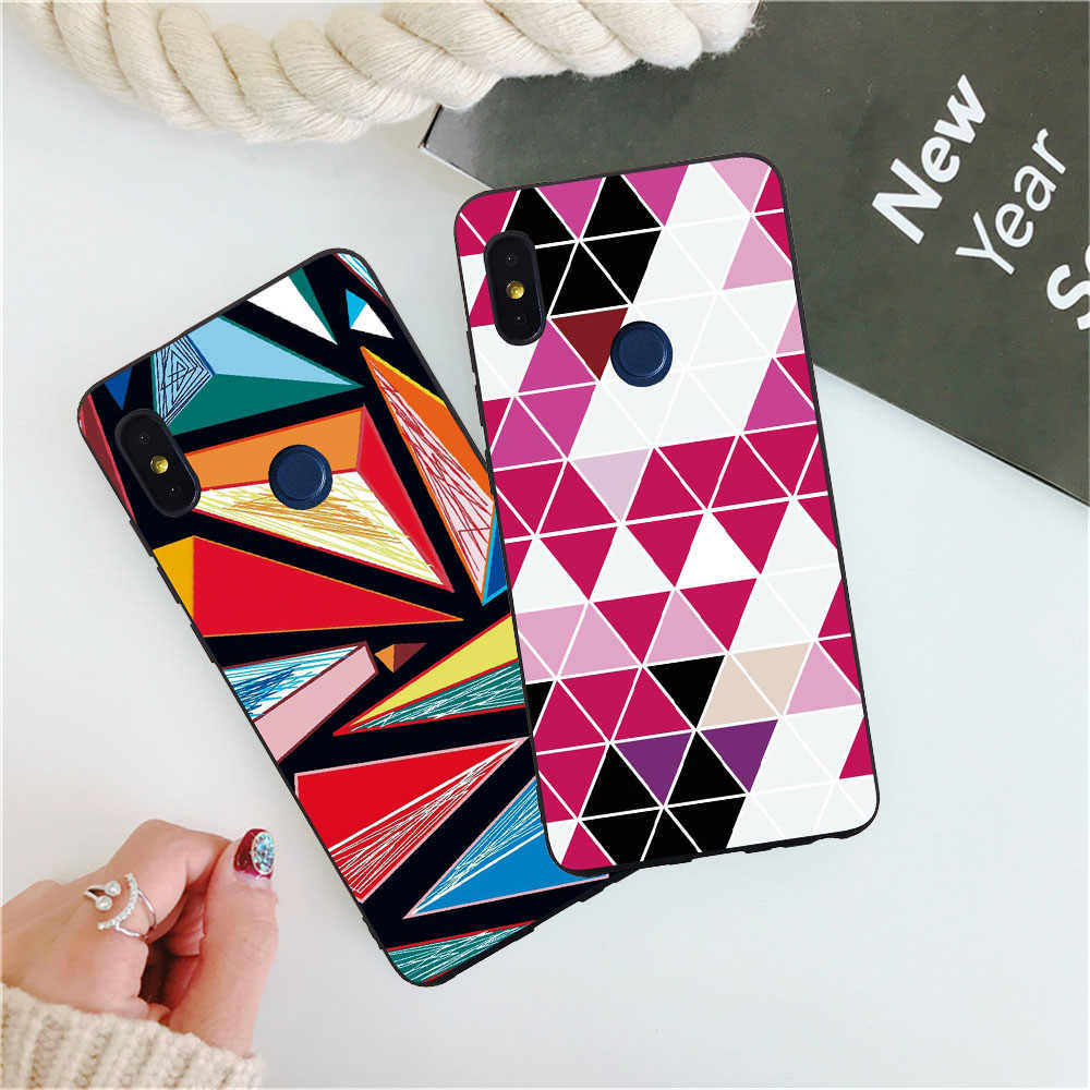 For Redmi Note 6 Pro 6A S2 Phone Case Xiaomi 8 SE 8SE 6X 5X A1 A2 Beautiful Flowers Leaves Fashion Cases Skins Fundas Coqe Coque