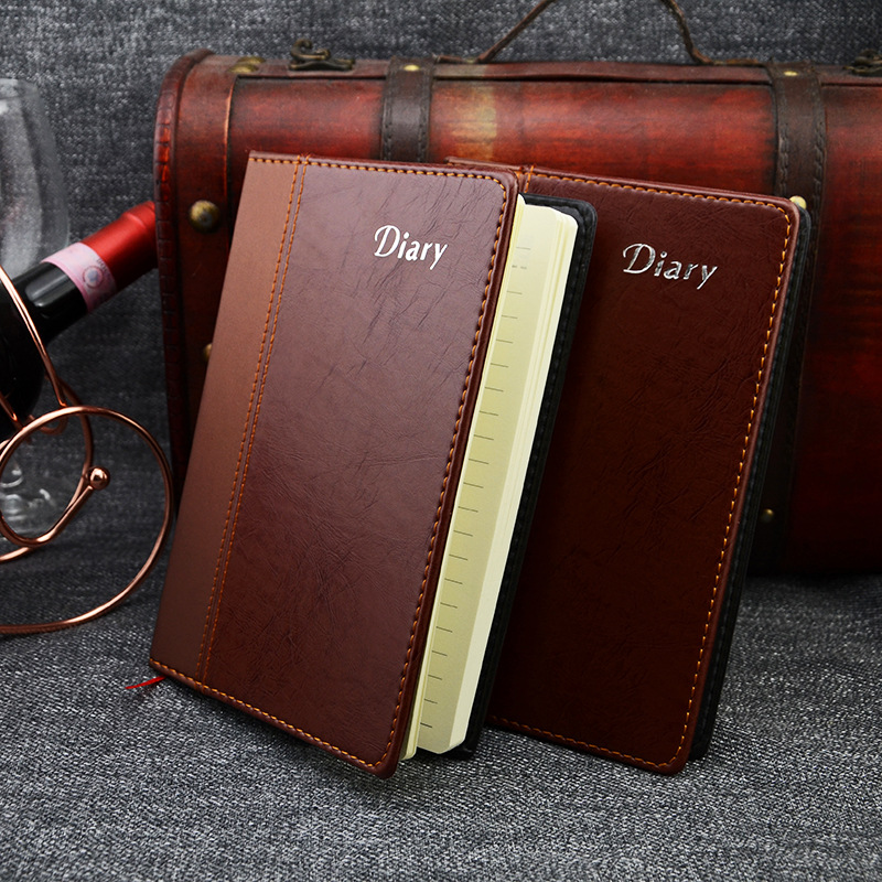 fashion business notebook Notepad stitching simple high
