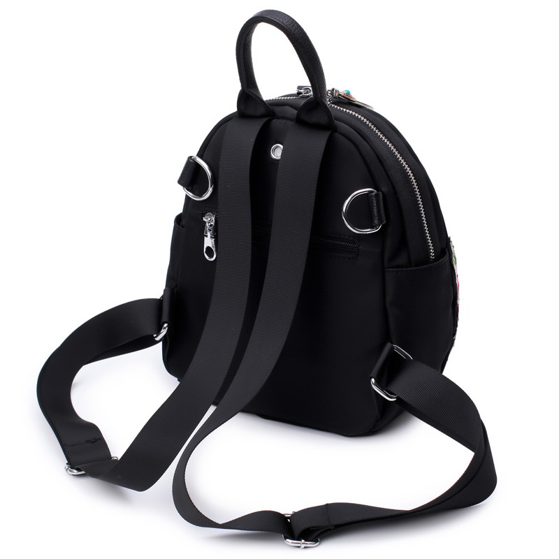 bfc6408d5bf7 ... Фото 4 Рюкзак из ткани Оксфорд с вышивкой этнический рюкзак для женщин  водонепроницаемый дорожный ранец школьная ...
