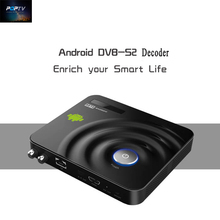 Android DVB-S2 Decodificador Android 4.2.2 Caja de la TV Árabe francés Europa 700 + Canales de IPTV receptor de satélite apoyo CCCam Newcam
