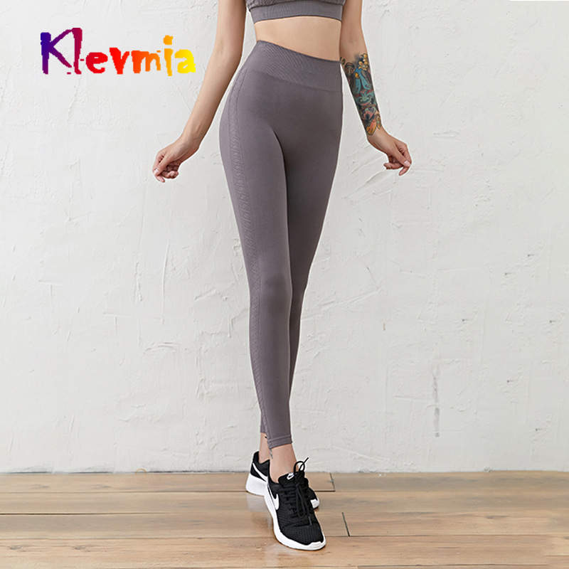 Women Seamless Leggings High Waist Yoga Pants Compression Sport Trousers Workout Running Pant Gym Tight Women Athlete Sportswear in Yoga Pants from Sports Entertainment