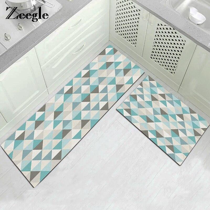 Купить кухонный напольный коврик zeegle нескользящий придверные коврики