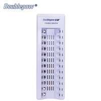 12 Slots Multifunction Smart Automatic Fast Charger For All 1 2V AA AAA Rechargeable Batteries Charging