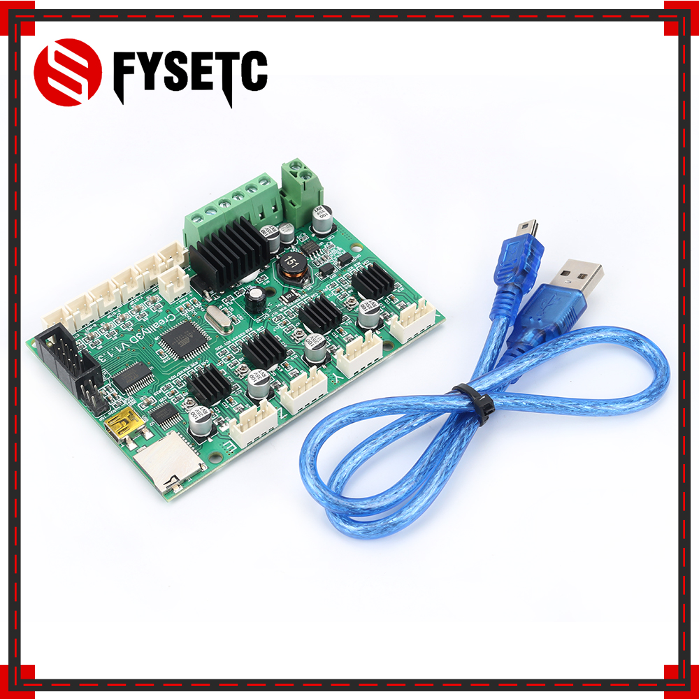 3D Printer Part Motherboard Controller Board Mainboard for Creality Ender-3 3D Printer Self Assembly DIY Kit недорго, оригинальная цена