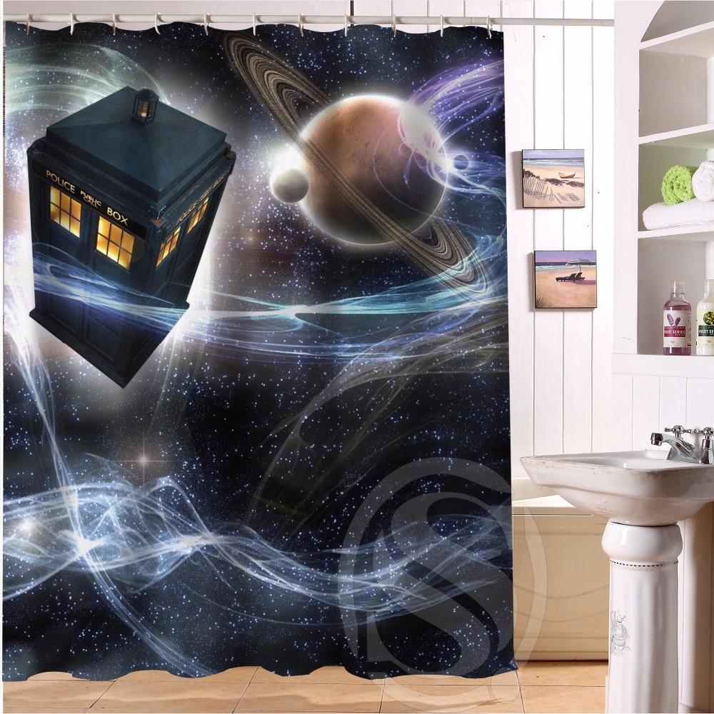 h+p#283 hot sale doctor who#1 custom waterproof shower curtain