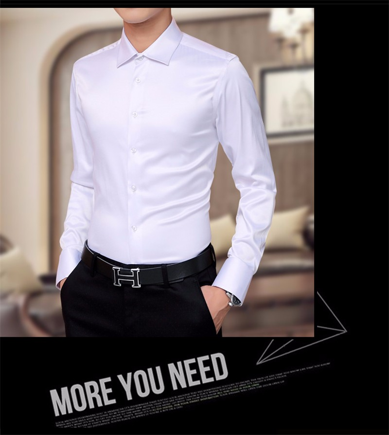 HTB1tUg2NXXXXXXVaXXXq6xXFXXX8 - Plus Size 5XL New Men's Luxury Shirts Wedding Dress Long Sleeve Shirt Silk Tuxedo Shirt Men Mercerized Cotton Shirt