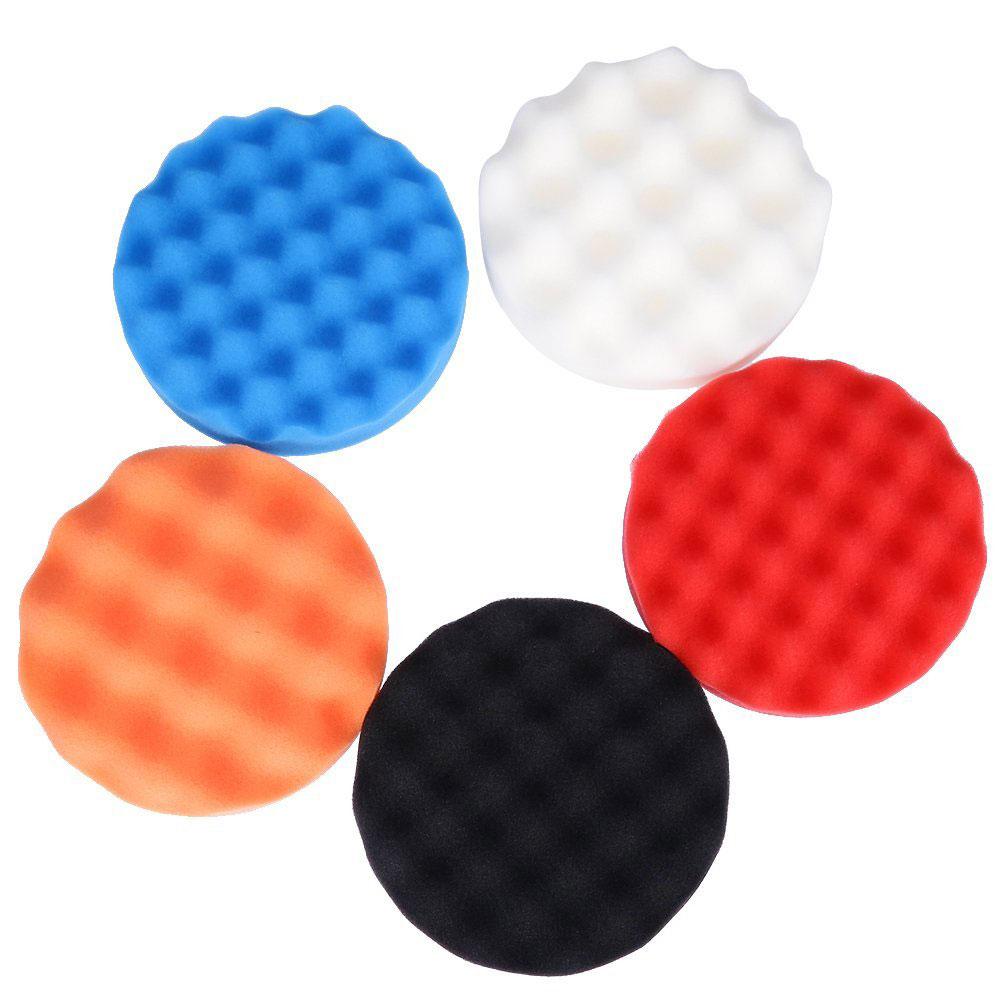 Vehemo 1 шт. полирующая пена автомобиля губка для полировки Pad комплект полировщик буфера для губки Губка для полировки прочный чистящие средства авто