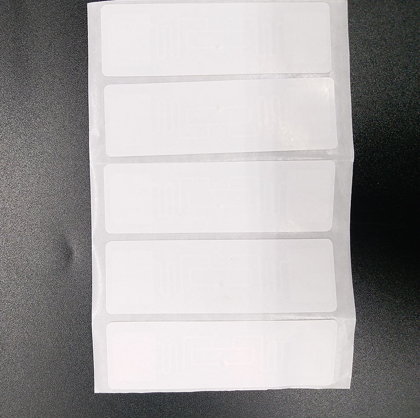10pcs UHF Stickers 860-960MHz 73*23mm RFID Tag AZ 9662 H3 Chip Passive RFID UHF Sticker Label Read Range 6m-8m
