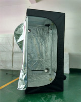 Grow tent high quality 80*80*180cm non toxic 600*300D with Waterproof Feature and Aluminum Metal Type