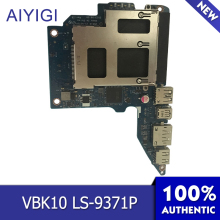 AIYIGI 100% Brand New USB Board Original VBK10 LS-9371P For HP zbook 17 G1 G2 USB Board High Quality Laptop Accessories цена