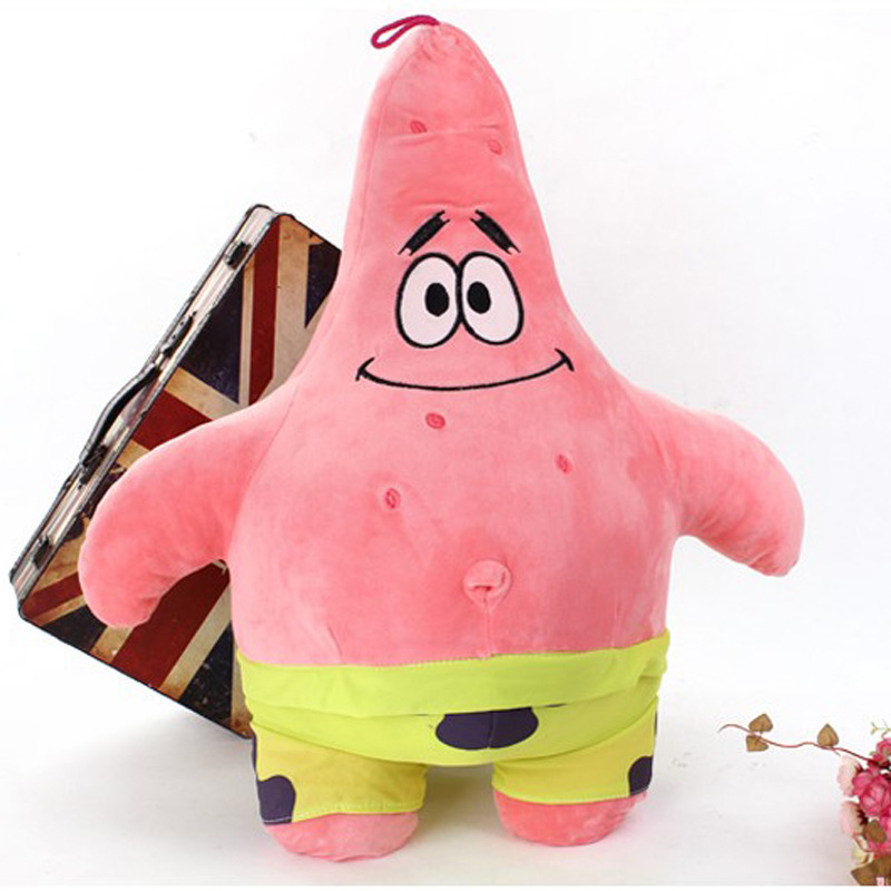 25/35CM Cartoon Anime Toys Soft Stuffed Animal Spongebob Plush And Patrick  Star Dolls Toy For Girl Cute Valentine Day Gift BF097