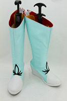 RWBY weiss schnee cosplay shoes light blue boots