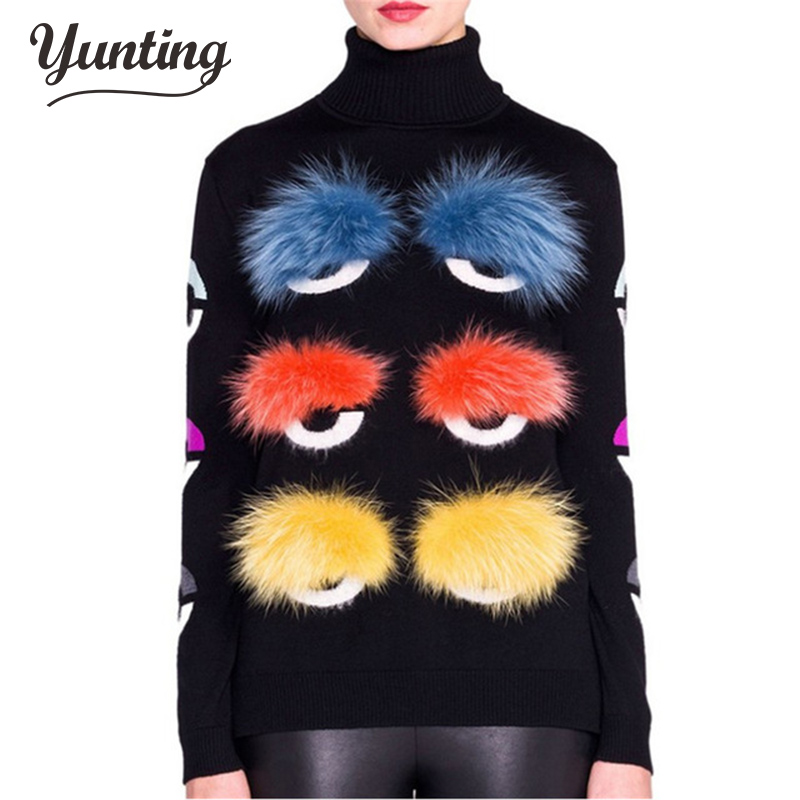 European design fashion high quality autumn runway women's long sleeve knitted sexy sweater pullover Wool Sweater Womens