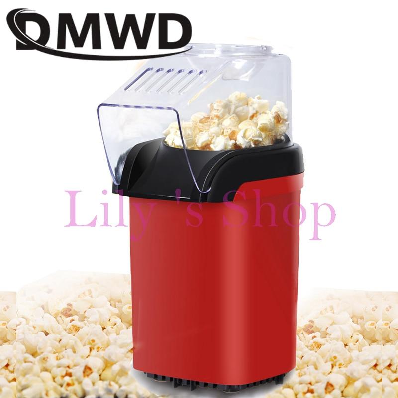 Electrical Corn Popcorn Maker household automatic mini popcorn machine Hot Air Popcorn Popper home children kids Gift EU US plug цена и фото