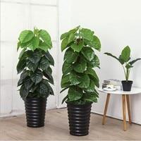 Artificial Plants Tree Large Epipremnum Aureum Plants Artificial Greens Faux Tree Plant Fake Greenery